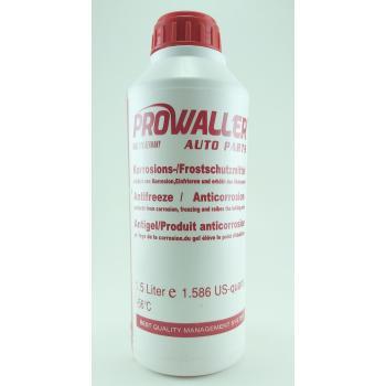 ProWaller Antifriz 1,5 Litre Kırmızı -56 Derece Araç Güneş En