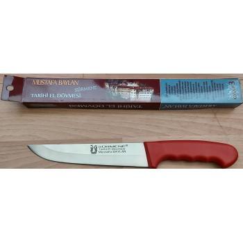 Sürmene Kasap Bıçağı Dövme Çelik Bıçak Kurban Bıçağı No:3