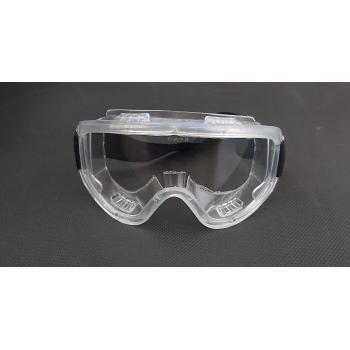 Batu Grand Koruyucu Şeffaf Gözlük İş Gözlüğü Laboratuvar Gözlüğü Silikon