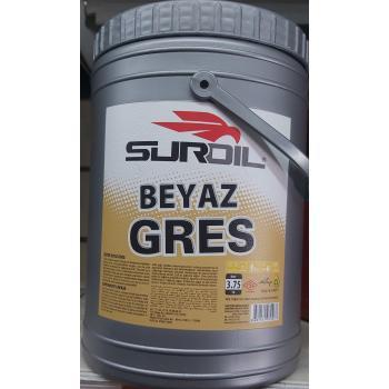 SurOil Sarı Gres Yağ Rulman Yağı Dişli Yağı 4 Kg Net:3750Gr