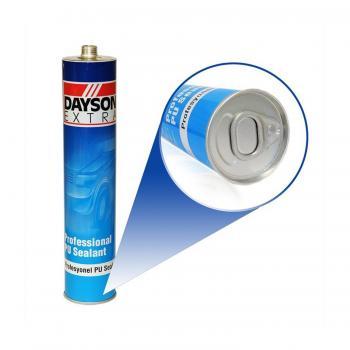 Dayson Poliüretan Silikon Mastik Siyah  Extra Güçlü Yapıştırıcı 280 ml.