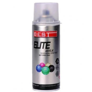 Best Elite Akrilik Ral 9006 Metal Gri Sprey Boya 400 ML