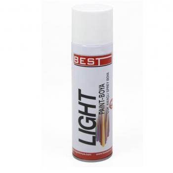 BEST LIGHT SPREY BOYA BEYAZ 250 ML BL250