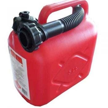 Antistatik Benzin Yakıt Bidonu 5 Litre Plastik