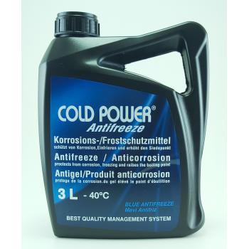 ColdPower Antifriz 3 Litre Mavi -40 Derece Araç Güneş Enerji