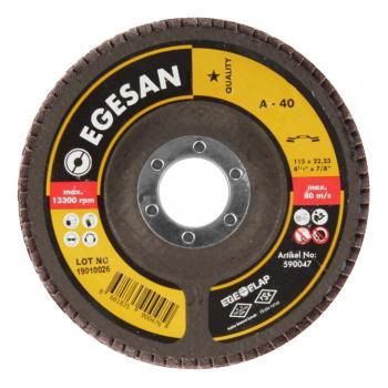 Egesan Flap Disk Zımpara 115 MM 40 Kum Ahşap Metal Zımparası