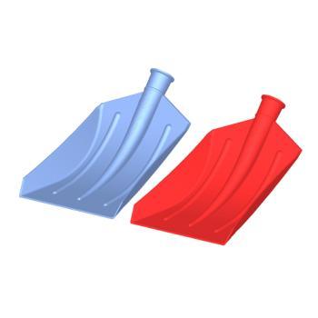Duyar Plastik Faryap Küreği Sapsız Gri 27 x 36