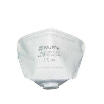 Würth FFP1 Ventilli Katlanabilir Solunum Maskesi Toz Maskesi