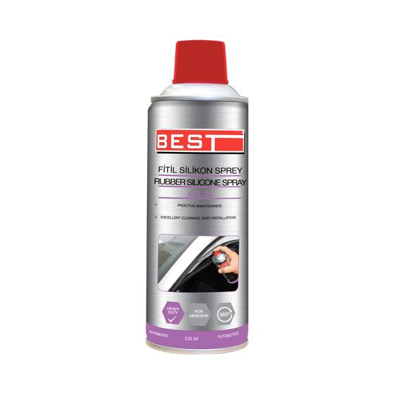 BEST FİTİL SİLİKON SPREY CR34 400 ML.