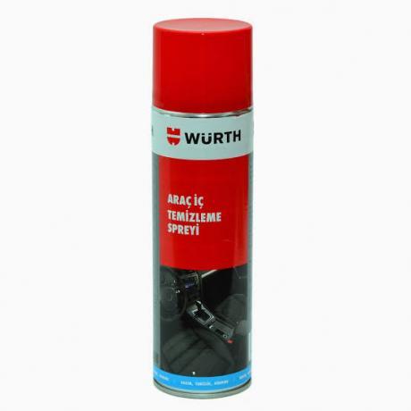 Würth Araç İçi Temizleme Spreyi Koltuk Tavan Temizleme Köpüğü 500 ML
