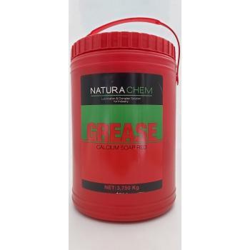 Natura Chem Kırmızı Gres Yağ Rulman Yağı Dişli Yağı 4 Kg Net:3750Gr