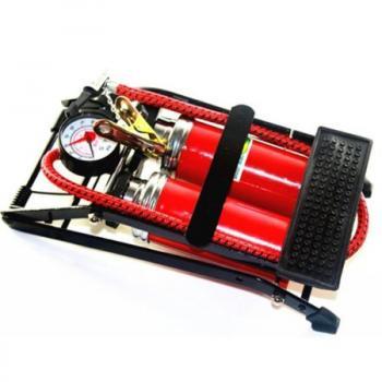 Emka Ayak Pompası Lastik Hava Şişirme Pompası Çift Pistonlu