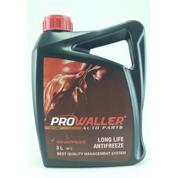 ProWaller Antifriz 3 Litre Kırmızı -56 Derece Araç Güneş Enerji