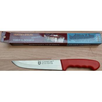 Sürmene Kasap Bıçağı Dövme Çelik Bıçak Kurban Bıçağı No:2