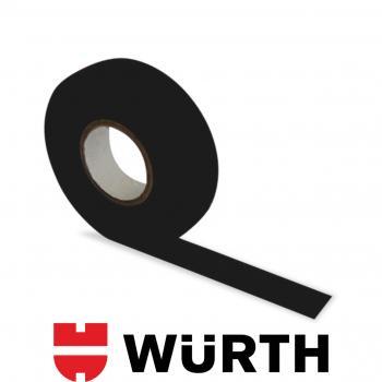Würth Bez Bant Tüylü Siyah 19 MM x 15 M Yüksek Sıcaklık Dayanıklı SKT: 25.03.2021