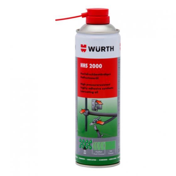 Würth HHS 2000 Yağlama Spreyi Tutunma Özellikli Sıvı Gres 500 ml