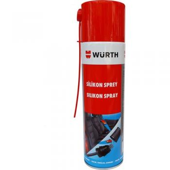 Würth Silikon Sprey 500 ML Made in Germany SKT: 17.09.2022